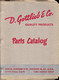 1953 Gottlieb Parts Catalog cover