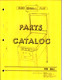 Recel Parts Catalog cover