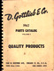 1962 Gottlieb Parts Catalog cover