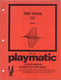 Playmatic Parts Catalog cover.